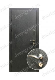 Нестандартная узкая металлическая дверь - модель 08-002