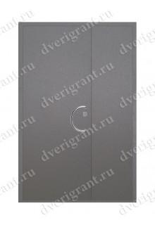 Уличная металлическая дверь - модель 16-002