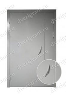 Уличная металлическая дверь - модель 16-005
