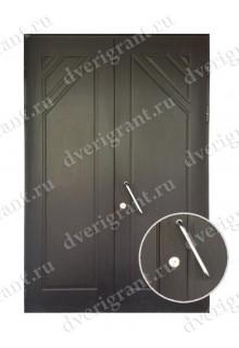 Уличная металлическая дверь - модель 16-006