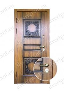 Металлическая входная дверь в квартиру с тепло-шумоизоляцией - модель 17-032