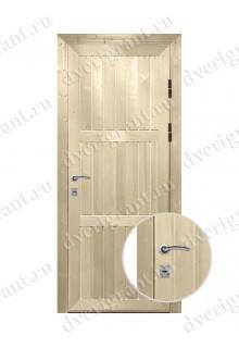 Металлическая дверь для дачи - модель 18-017