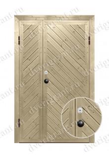 Дверь с отделкой вагонка - модель 18-019