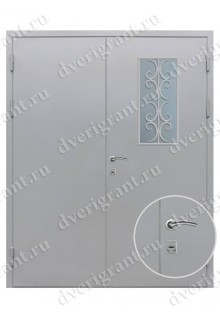 Дверь с отделкой вагонка - модель 18-027
