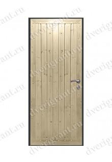 Металлическая дверь для дачи - модель 18-030