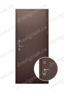 Металлическая дверь для дачи - модель 18-032