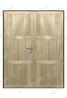 Дверь с отделкой вагонка - модель 18-033