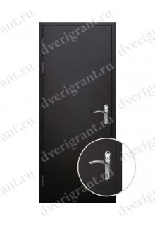 Недорогая дверь входная металлическая для коттеджа - модель 19-013