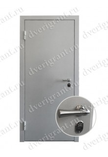 Металлическая дверь для частного дома - модель 20-007