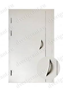 Входная металлическая дверь на заказ по индивидуальным размерам - модель 22-013