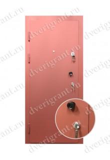 Входная металлическая дверь на заказ по индивидуальным размерам - модель 22-014