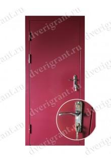 Входная металлическая дверь на заказ по индивидуальным размерам - модель 22-020