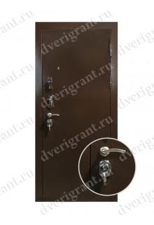 Входная металлическая дверь на заказ по индивидуальным размерам - модель 22-021