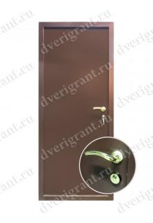 Входная металлическая дверь на заказ по индивидуальным размерам - модель 22-022