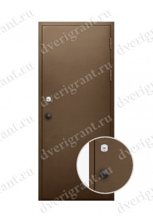 Металлическая дверь для бани - модель МДБ-004