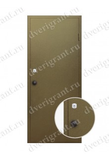 Металлическая дверь для бани - модель МДБ-008