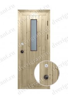 Металлическая дверь для бани - модель МДБ-010