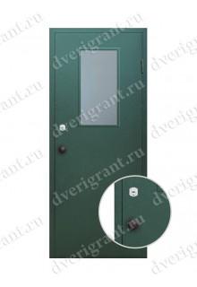 Металлическая дверь для бани - модель МДБ-011