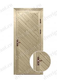 Металлическая дверь для бани - модель МДБ-014