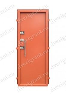 Металлическая бронированная дверь - модель - 01-001