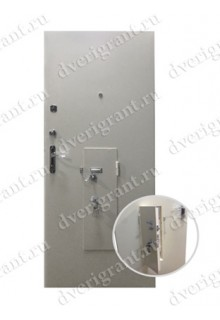 Металлическая бронированная дверь - модель - 01-002