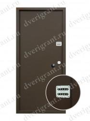 Бронированная дверь - 01-005