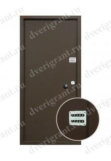 Металлическая бронированная дверь - модель - 01-005