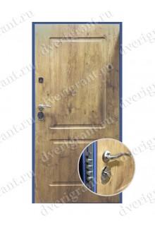 Металлическая бронированная дверь - модель 01-006