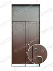 Бронированная дверь - модель 01-007