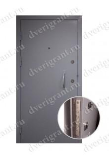 Металлическая бронированная дверь - модель - 01-008