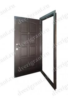 Металлическая бронированная дверь - модель - 01-010