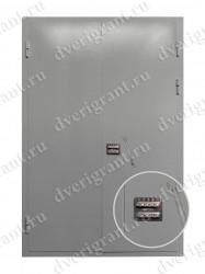 Металлическая дверь - 02-012