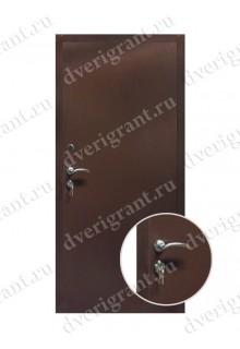 Внутренняя металлическая дверь - модель - 09-001