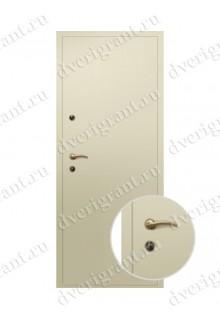 Внутренняя металлическая дверь - модель - 09-002