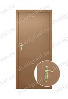 Внутренняя металлическая дверь - модель - 09-008