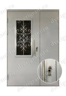 Металлическая дверь - модель - 10-035