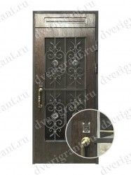 Входная металлическая дверь - 10-036