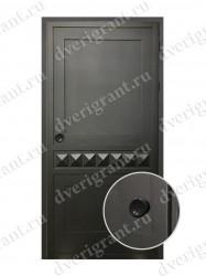Входная металлическая дверь - 10-038