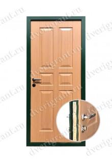 Металлическая дверь - модель - 10-039