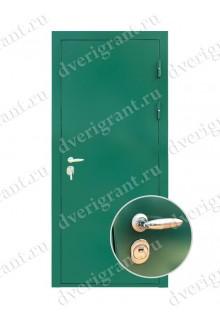 Входная металлическая дверь эконом класса - 21-13
