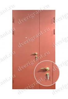 Техническая металлическая дверь 10-042