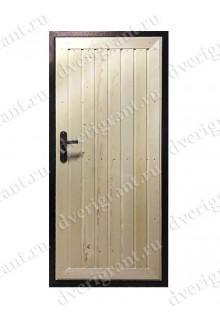Входная металлическая дверь эконом класса - 21-15