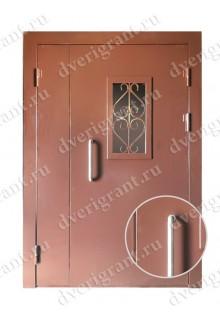 Техническая металлическая дверь 10-048