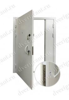 Техническая металлическая дверь 10-050