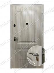 Входная металлическая внутренняя дверь - 10-052