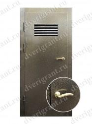 Входная металлическая дверь - 10-053