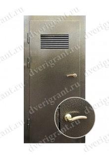 Техническая металлическая дверь 10-053