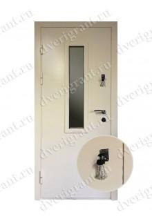 Металлическая дверь - модель - 10-054