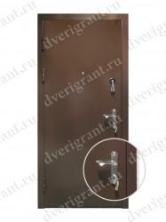 Входная металлическая дверь - 10-058