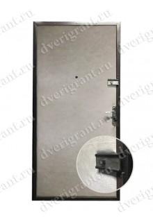 Входная металлическая дверь эконом класса - 21-17